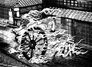 """From Shigeru Mizuki's """"Yokai Encyclopedia"""""""